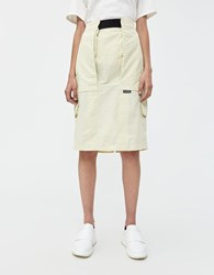Stussy Field Cargo Skirt Light Lime