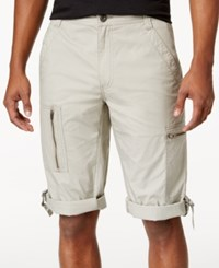 Inc International Concepts Men's Foster Messenger Shorts Only At Macy's Seashell