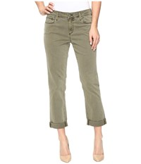 Paige Brigitte In Sahara Green Sahara Green Women's Jeans Olive