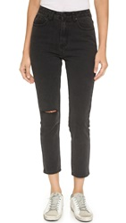 Unif Bab High Rise Jeans Black