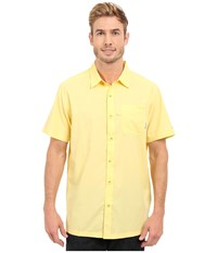 Columbia Slack Tide Camp Shirt Sunlit Men's Short Sleeve Button Up Yellow