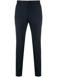 Calvin Klein Slim Tailored Trousers Blue