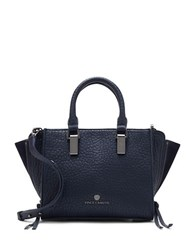 Vince Camuto Riley Small Leather Satchel Peacoat