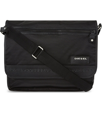Diesel New Voyage Cross Body Bag Black