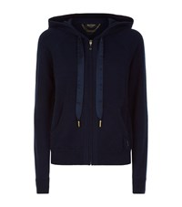 Juicy Couture Cashmere Hoodie Female Blue