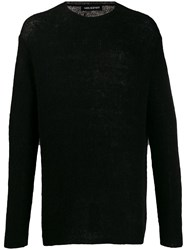 Neil Barrett Fine Knit Jumper Black