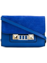 Proenza Schouler Ps11 Wallet With Strap Blue