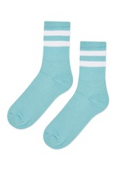 Topshop Sporty Tube Ankle Socks Mint