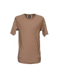 Black Kaviar T Shirts Light Brown