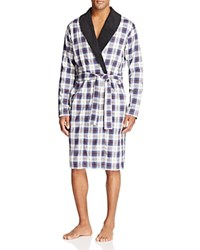 Ugg Kalib Plaid Robe Plaid Navy