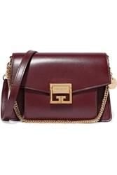 Givenchy Gv3 Small Leather Shoulder Bag Dark Purple