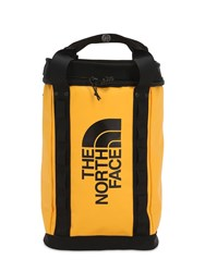 The North Face Explore Fusebox S Nylon Blend Backpack Yellow