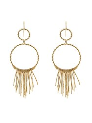 Aurelie Bidermann Maria Gold Plated Earrings