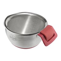 The Bakehouse And Co Stainless Steel Mixing Bowl Sieve Set