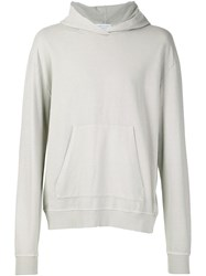 John Elliott Oversized Cropped Hoodie Nude And Neutrals