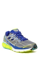 Saucony Hurricane Iso Running Shoe Wide Width Available Gray