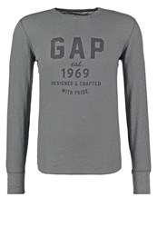 Gap Long Sleeved Top Pavement Anthracite