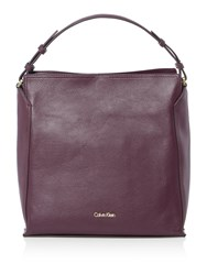 Calvin Klein Keyla Burgundy Clutch Bag Burgundy