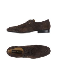 Cesare Paciotti Footwear Lace Up Shoes Men Dark Brown