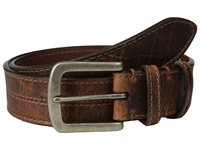 Torino Leather Co. Waxed Shrunken Bison Brown Men's Belts