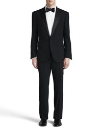 Ralph Lauren Black Label Peak Lapel Tuxedo Black