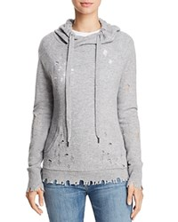 Aqua Deconstructed Hooded Sweatshirt Light Grey