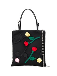 Prada Floral Embroidered Tote 60