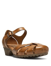 Cobb Hill Gina Tan Leather Flats