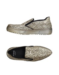 Pinko Loafers Gold