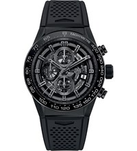 Tag Heuer Car2a90.Ft6071 Carrera Titanium Chronograph Watch