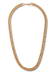 Topman Gold Look Chunky Chain Necklace