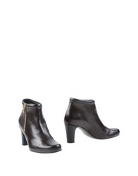 Jancovek Ankle Boots Dark Brown