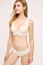 Anthropologie Clo Intimo Fortuna Low Rise Bikini Ivory