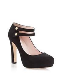 Kate Spade New York Nara Mary Jane Platform Pumps Black