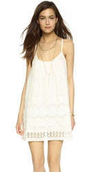 Liv Allie Racer Back Cami Dress Ivory