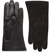 Dents Dent Warwick Cahmere Lined Uede And Leather Glove Black