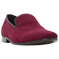 Dune Riverview Slipper Shoe Burgundy