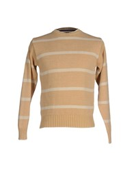 Brooksfield Knitwear Jumpers Men Beige