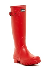 Barbour Town And Country Wellington Boot Red