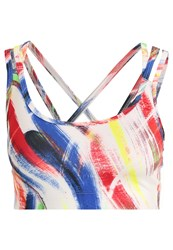 Gap Sports Bra Painted Wash Multicoloured