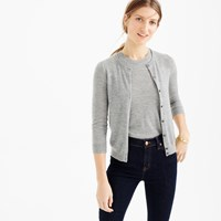 J.Crew Collection Featherweight Cashmere Cardigan