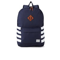 Herschel Men's Heritage Peacoat Offset Backpack Navy White