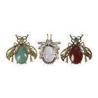 Joanna Buchanan Vintage Bug Clips Set Of 3
