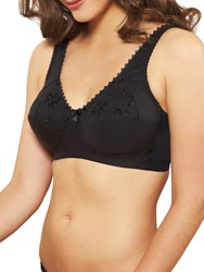 Royce Grace 513 Cotton Rich Non Wired Bra Black