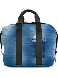 Dsquared2 Weekender Denim Tote Blue