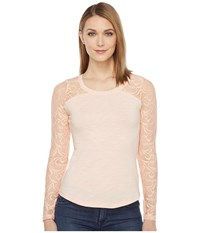 Ariat Dolce Top Sugar Peach Women's Clothing Red