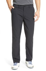 Travis Mathew Men's 'Hough' Trim Fit Golf Pants Black