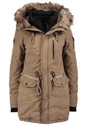 Khujo Eivola Winter Coat Lizzard Oliv