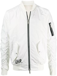 Unravel Project Graphic Print Bomber Jacket 60