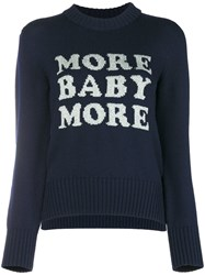 Christopher Kane 'More Baby More' Knit Blue
